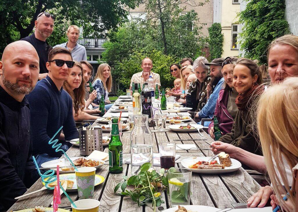 Eskild Hansen Annual Summer BBQ and Team Building