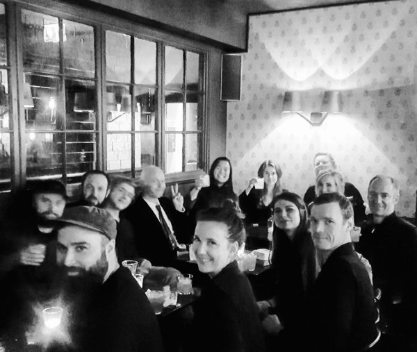 Eskild Hansen Design Studios Christmas Dinner 2017