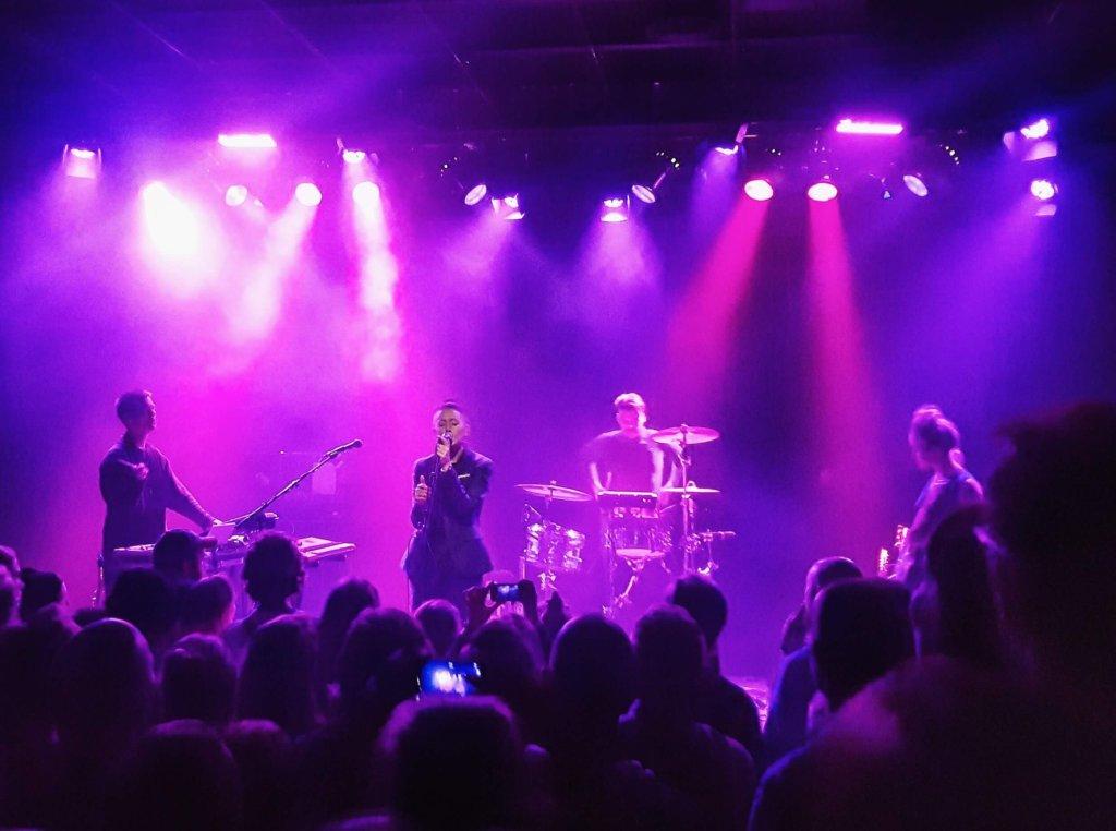 Teambuilding at the Vök (IS) Concert in Copenhagen
